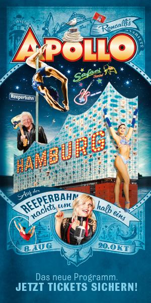 Hamburg- Auf der Reeperbahn nachts um halb eins!