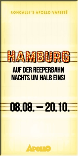 Hamburg - Auf der Reeperbahn nachts um halb eins! Hochkant