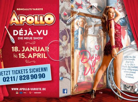 Apollo Deja Vu Show Plakat