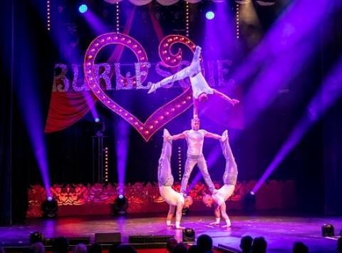 Burlesque Show mit Man´s World
