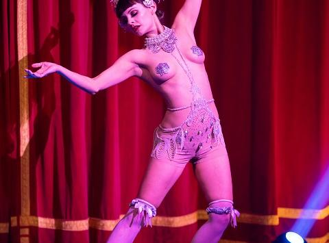 Burlesque Show mit Talulah Blue