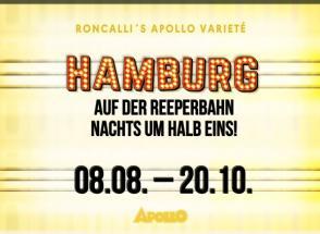 Hamburg- Auf der Reeperbahn nachts um halb ein! Querformat